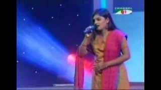 keno asha bedhe rakhi mitali mukherjee song singing by Kazi Shahida Akthar Ruma