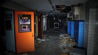 Creepy Abandoned School Exploration - Everything Left Behind