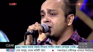 Topu - Jatri live @ SA TV 16-04-2016