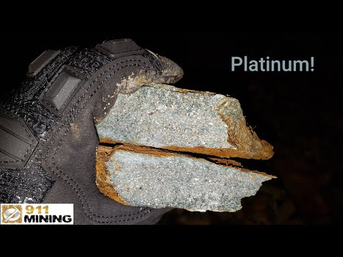 High Grade Platinum Grab Samples From A Heavily Mineralized Outcrop!
