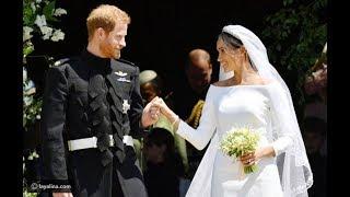 صور قالب حلوى زفاف الأمير هاري وميغان ماركل