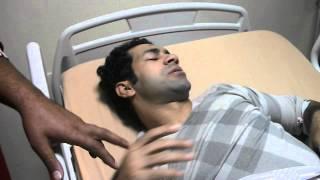 حسني عبدربه بعد أجراء جراحة الرباط الصليبي