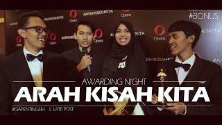 AWARDING ARAH KISAH KITA on Daily Vlog [#gapentingsih]