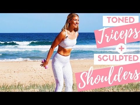 Sculpted Shoulders and Toned Triceps | Yoga Pilates Fusion Arm Workout
