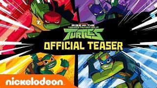 Rise of The Teenage Mutant Ninja Turtles!! 🐢 NEW Series Official Teaser | Nick