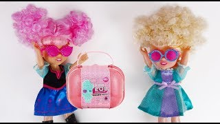 Elsa and Anna toddlers huge surprise!