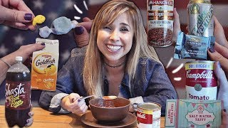 TRYING AMERICAN SNACKS FOR THE FIRST TIME (legendado) | English in Brazil