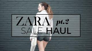 Zara sale haul unboxing + try-on lookbook pt. 2 | summer sale 2017