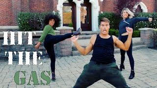 Raven Felix - Hit the Gas (Feat. Snoop Dogg) #HitTheGasDanceOn | The Fitness Marshall
