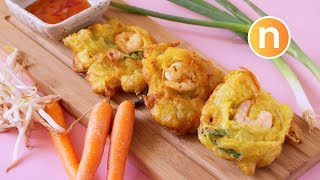 Cucur udang mamak  Prawn Fritters  Jemput-jemput udang Nyonya Cooking uploaded on 5 day(s) ago 1067 views