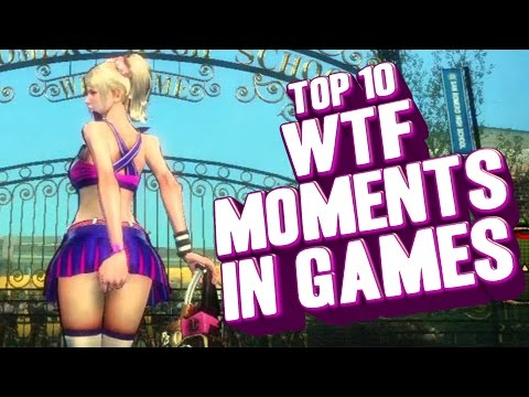 Top 10 WTF moments in gaming