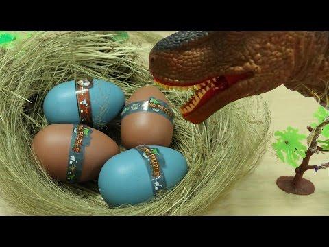 Khủng long bạo chúa ấp trứng p2 - T-Rex Hatching Dinosaur Eggs