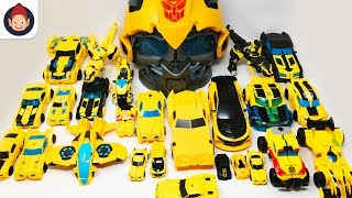 Yellow Color Transformers Bumblebee 30 Vehicles Robot Car Toys Rescue Bots Combiner Force