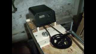 ELECTRIC CAN CRUSHER BUILT FROM SCRAP