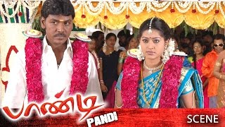 Pandi Tamil Movie | Scene | Raghava Lawrence, Sneha Marriage