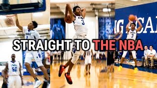 Anfernee Simons Has Entered The NBA DRAFT! IMG Academy HIGHLIGHTS! Crazy Athlete & Shooter 🔥