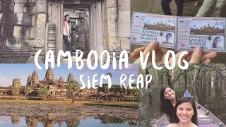 $300 BUDGET (with airfare) || Siem Reap, Cambodia || Travel VLOG, Itinerary, Expenses for 4 days