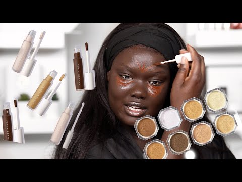 LETS TALK ABOUT IT Fenty Beauty Foundations Concealers Setting Powders Nyma Tang