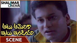 Atu America Itu India Movie || Venessa Marriage Proposal Scene || Vijay Nainan || Shalimarcinema