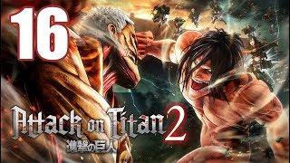 Attack on Titan 2 - Gameplay Walkthrough Part 16: Bite