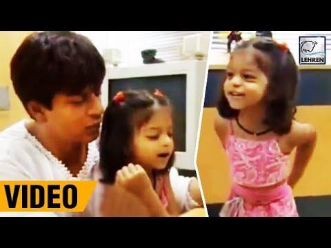 Xxx Mp4 Suhana Khan Cutely Shouting At Shah Rukh Khan Throwback Video LehrenTV 3gp Sex