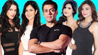 10 Bollywood Actresses Launched By Salman Khan - Katrina Kaif, Zarine Khan, Sonakshi....