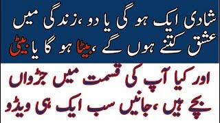 love marriage or arranged marriage video in urdu and hindi