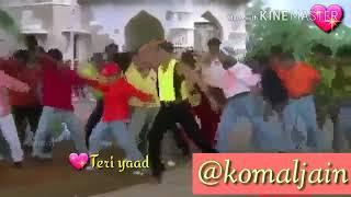 Tujhe pyaar hai mujhse bolde ..... pyar kiya toh darna Kya .... kajol and Salman Khan film .... ❤❤❤❤