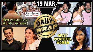 Alia Salman Inshallah, Ranbir Deepika Together, Jaya Bachchan ANGRY | Top 10 News