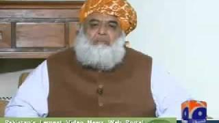 Moulana Fazal-ur-Rehman pagal hogaya