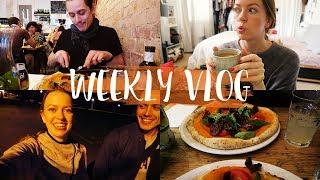 Mein Feedback zu EUREN Kommentaren, vegane Pizza in London & Fitnessfieber! #WEEKLYVLOG