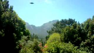 UFO sighting South Africa Cape Town