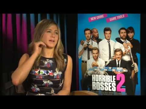 Jennifer Aniston HORRIBLE BOSSES 2 Behind The Scenes with Scott Carty