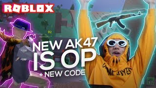 DESTROYING The CREATOR OF ROBLOX STRUCID With The NEW OVERPOWERED AK47 (NEW CODE)
