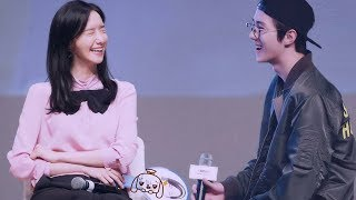 # Yoonhun Sweet Love talk show  , Yoona and Sehun Best Cute and Sweet couple