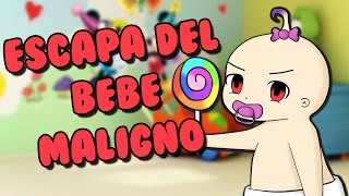 ESCAPA DEL BEBE MALIGNO | Roblox Escape the evil baby en español