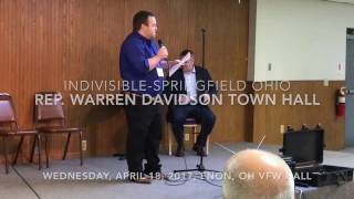Rep Warren Davidson Town Hall