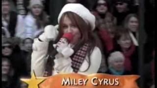 Miley Cyrus at the Macys Thanksgiving Day Parade