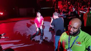Shinsuke Nakamora  HQ WWE Smack Down Live Nottingham 09 11 2017