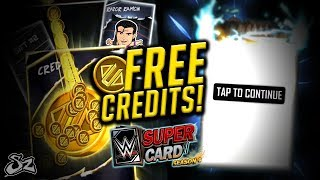 FREE CREDITS!! FIRST BEAST FUSION!   WWE SuperCard S4
