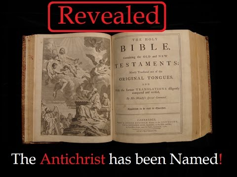 The Antichrist has been NAMED and Dark Resurrection is Coming