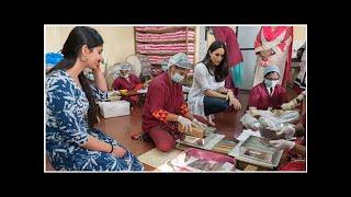 This is why you'll see a Raw Mango sari at the royal wedding
