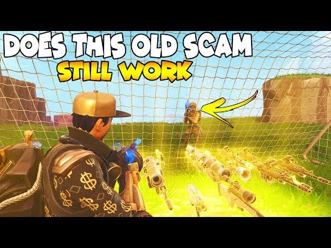 Xxx Mp4 Does This OG SCAM Work Again 😱 Scammer Gets Scammed Fortnite Save The World 3gp Sex