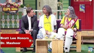 The Kapil Sharma Show - Brett Lee Honors Dr. Mashoor Gulati