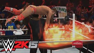 WWE 2K15 - EXTREME MOMENTS!