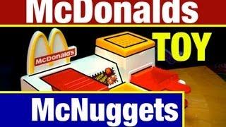 McDonalds Toys McNugget Maker Playset Vintage McDonalds Snack Food Maker Toy Review Mike Mozart
