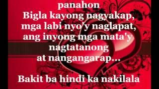 Ikaw Sana by Ogie Alcasid with lyrics on screen