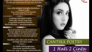 cantika poetry 1 hati 2 cinta