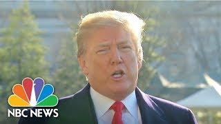 President Donald Trump Explains His Decision To Fire Rex Tillerson | NBC News