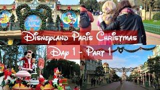 Disneyland Paris January 2016 | Day 1 Part 1
